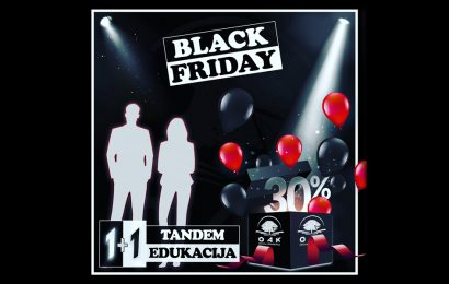Online Akademija Black Friday Ponuda 30% popust - Crni petak