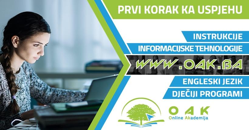 Online učenje - Online kursevi - Online edukacija - OAK Online Akademija