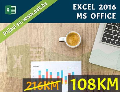 Excel 2016 kurs praznički popust 50% - Online Akademija