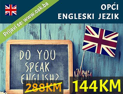 Opći engleski jezik kurs praznički popust 50% - Online Akademija