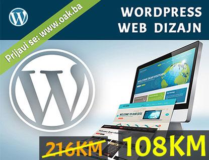Wordpress kurs praznički popust 50% - Online Akademija