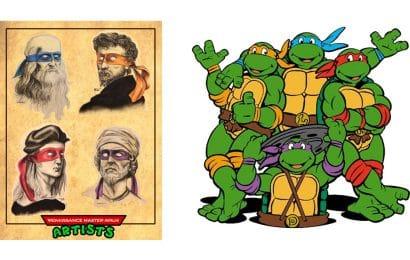 koji italijanski umjetnici se kriju iza imena nindza kornjaca - novosti - istrazivanje - zanimljivosti - Online Akademija OAK